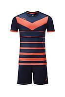 Футбольная форма Europaw 014 т.сине-оранжевая