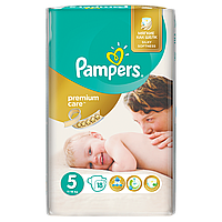 Подгузники Pampers Premium Care Размер 5 (Junior) 11-18 кг 18 шт.
