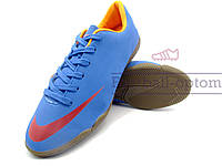 Футзалки (бампы) Nike Mercurial\Найк Меркуриал, синие, к11405