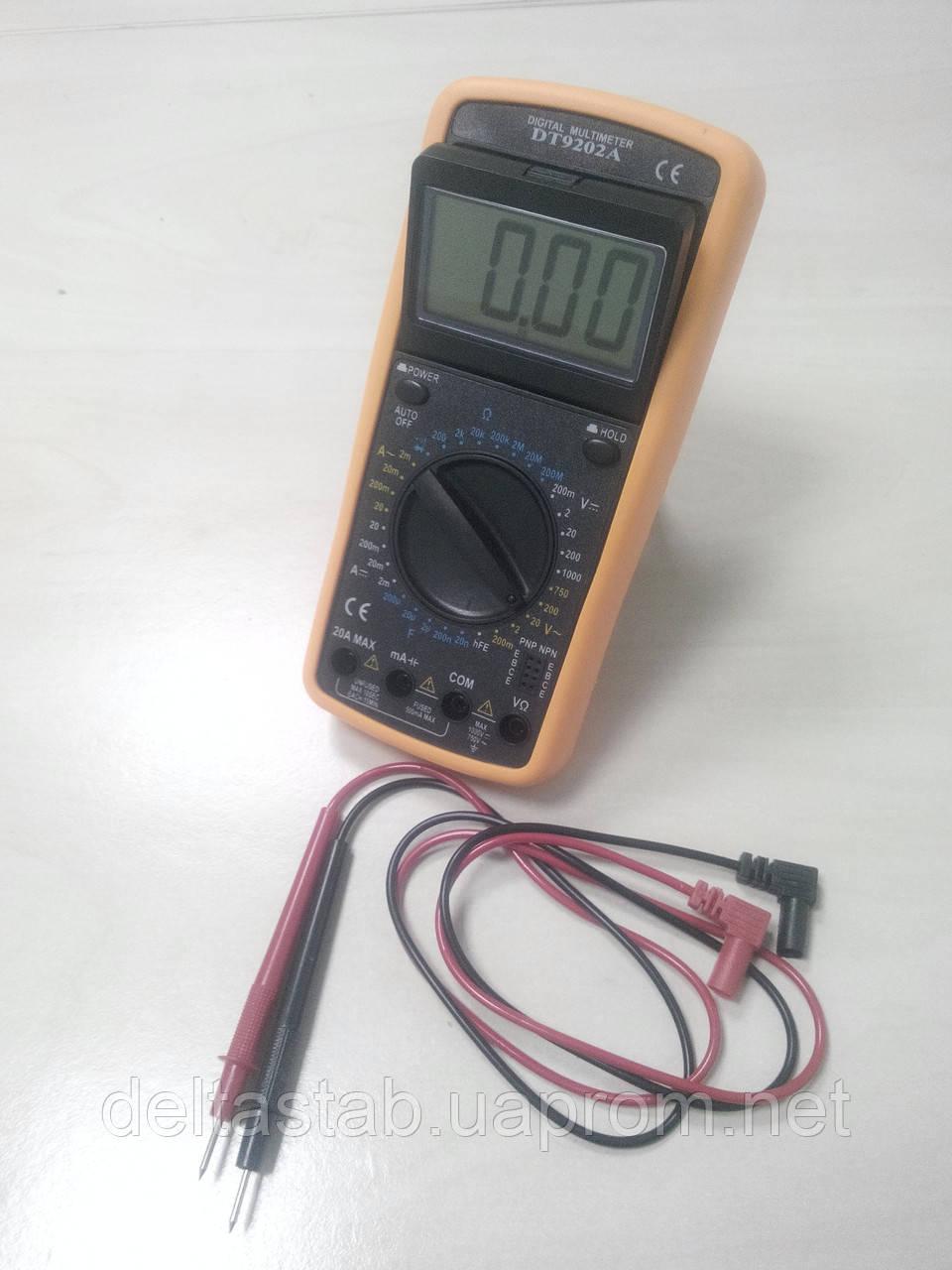 Мультиметр DT-9202A, тестер цифровой - Интернет-магазин DELTA в Ужгороде