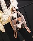 Рюкзак женский с ромбами, фото 6