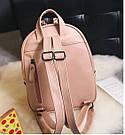 Рюкзак женский с ромбами, фото 7