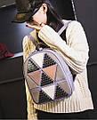 Рюкзак женский с ромбами, фото 8