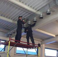 Монтаж и пусконаладочные работы  вентиляционных систем