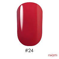 Гель лак G.La color UV GEL LACQUER 024 красный с розовым отливом