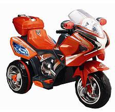 Детский мотоцикл оранжевый