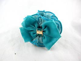 Резинка для волос шёлковая(12 штук в упаковке)