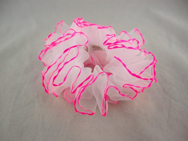 Резинка для волос шифоновая (20 штук в упаковке)
