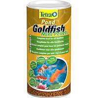 Tetra Pond Goldfish Mini Pellets корм для золотых рыб в мини-гранулах, 1 л, фото 1