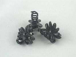 Заколка - крабик для волос маленький (60 штук в упаковке)