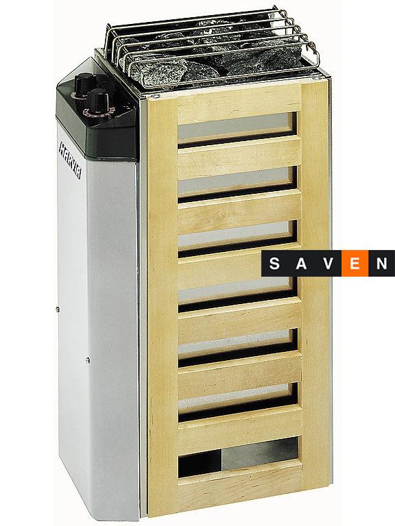 Электрическая каменка Harvia Compact JM25 для сауны и бани