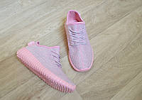 Женские летние кроссовки розовые