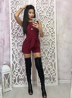Женский красивый комбез шорты (2 цвета)