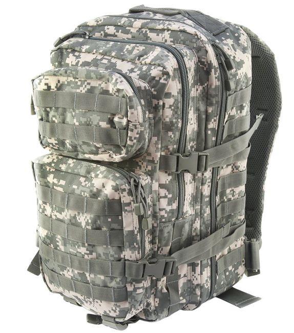 Штурмовой рюкзак 36л система Molle  MilTec Assault камуфляж At-Digital 14002270