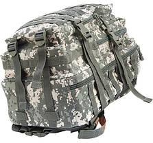 Штурмовой рюкзак 36л система Molle  MilTec Assault камуфляж At-Digital 14002270, фото 3