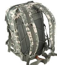 Штурмовой рюкзак 36л система Molle  MilTec Assault камуфляж At-Digital 14002270, фото 2