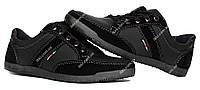 Мужские кроссовки демисезонные черные (БЛ-03ч)