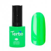Гель-лак Tertio #021 Неоново-Зеленый 10 мл., фото 1