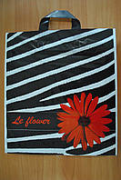 Пакет з петлевий ручкою Зебра 38*43 см, фото 1