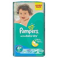 Подгузники Pampers Active Baby-Dry Размер 4+ (Maxi+) 9-16 кг 62 шт.