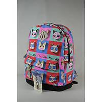 Городской рюкзак Favor Коты Цветные