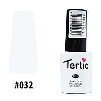 Гель-лак Tertio #032 Белый 10 мл.
