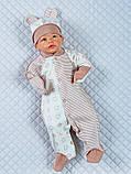 """Летний набор для новорожденных """"Стиляжки"""", 5-ти предметный, фото 3"""