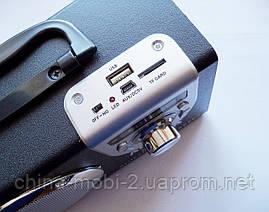 Акустическая колонка  Atlanfa AT-8978BT с Bluetooth  MP3 SD USB FM , black, фото 2
