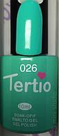 Гель-лак Tertio #026 Мятный 10 мл.