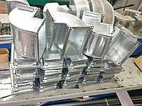 Отвод вентиляционный из оцинкованной стали