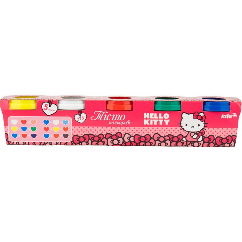 Цветное тесто для лепки, 5*75г Hello Kitty