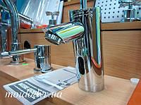 Сенсорный смеситель для умывальника (хром)