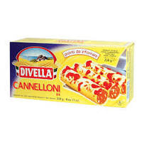 Макароны для фаршировки Divella Cannelloni 250 г (Италия), фото 1
