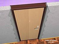 Немного про установку дверей в стенах из ЖБИ, бетона и арматуры