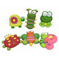 Набор игрушек для ванны Садовые друзья Baby Team 9057