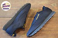 Мужские темно-синие кроссовки Reebok CL Engineered Mesh Dark Navy Gold