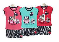 Костюмы детские на лето для девочки Pink 7097