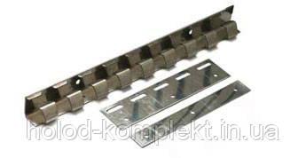 Пластины 300 мм. оцинковка для ПВХ завес