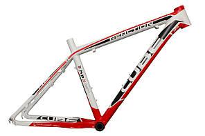 Велосипедная рама Cube Reaction Pro, бело-красная
