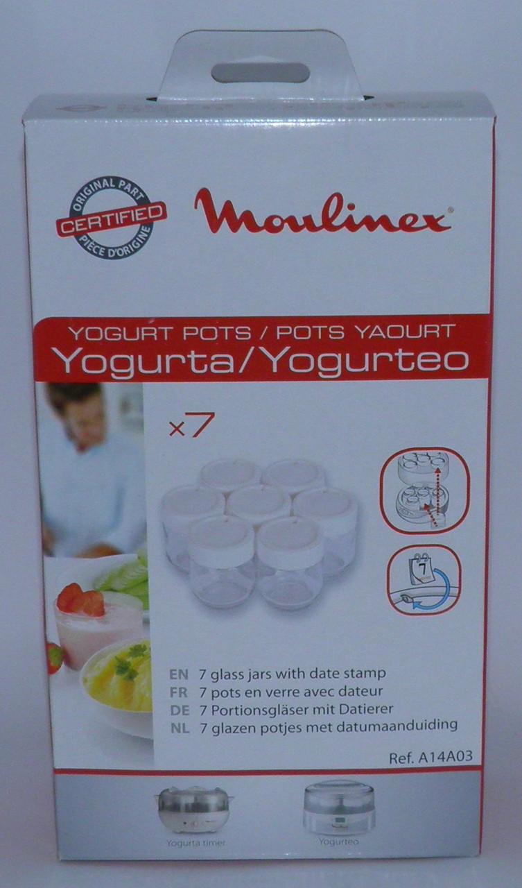 Баночки для йогуртницы MoulinexA14A03