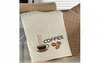 Набор кухонных полотенец ISSIMO HOME Кофейные зерна и чашка