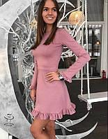 Женское короткое Платье мини от Производителя из Джерси  Джеуненс