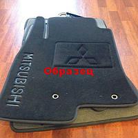 Ковры текстильные в салон Mitsubishi Outlander 2003-2009 Ciak ML беж. PP силик. (5шт/комп)
