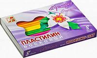 Пластилин мягкий восковой Луч пермиум 8 цветов 140 гр