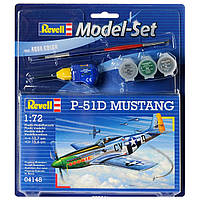 Model Set Истребитель (1940г., США) P-51D Mustang; 1:72, Revell