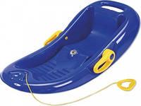 Санки-корыто KHW Snow Flipper de luxe синий