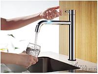 Смеситель для кухни KITСHEN (ТСТ,3F излив) контактный,сенсорный, СМ40Кт.16.4  Aqua-World