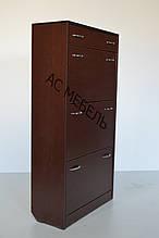 Шкаф для обуви на 3 отделения + ящик