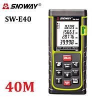 Лазерная рулетка (Дальномер) SNDWAY SW-E40