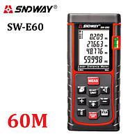 Лазерная рулетка (Дальномер) SNDWAY SW-E60